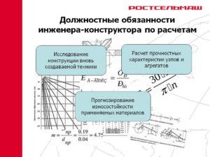 Должностная инструкция инженера-проектировщика