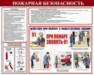 Инструкция по пожарной безопасности организации