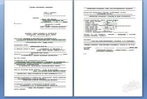 Заявление о выдаче разрешения на строительство