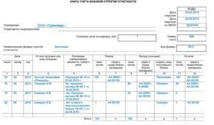 Акт о списании бланков строгой отчетности учреждения бюджетного учета
