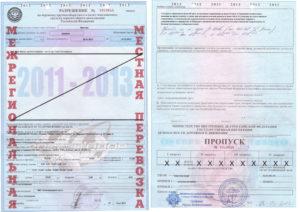 Заявление на получение разрешения для перевозки крупногабаритного и (или) тяжеловесного груза