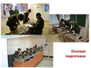 Огневая подготовка (раздел журнала служебно-боевой подготовки)