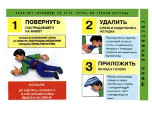 Инструкция по оказанию первой доврачебной помощи при несчастных случаях