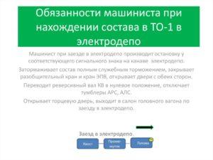 Должностная инструкция машиниста тепловоза