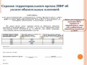 Справка о снятии с учета в ПФР страхователя-организации