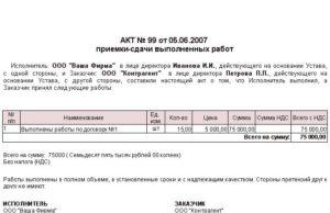 Акт приема-передачи вещей на хранение (приложение к договору хранения между физическими лицами)