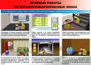 Наряд-допуск на выполнение огневых работ на взрывоопасных и взрывопожароопасных объектах на газораспределительной станции магистрального газопровода