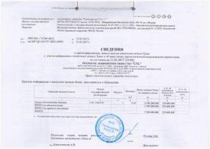 Акт приема-передачи реестра владельцев ценных бумаг по договору на оказание услуг по ведению реестра акционерного общества
