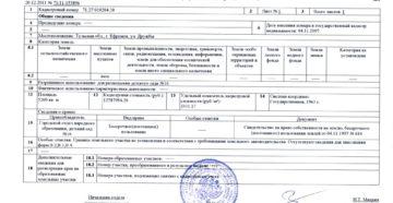 Кадастровая выписка о земельном участке (выписка из государственного кадастра недвижимости)