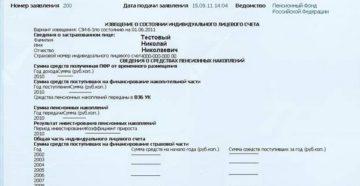 Выписка из индивидуального лицевого счета застрахованного лица. Форма N СЗИ-5