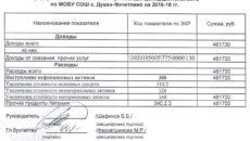Смета расходов (приложение к государственному контракту на оказание агентских услуг Федеральному агентству по культуре и кинематографии)